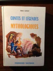 CONTES ET LEGENDES MYTHOLOGIQUES/Émile GENEST/NATHAN 1962