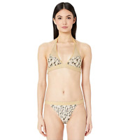 Missoni Mare Two-Piece Gold Bikini Swimsuit Size 38 69001