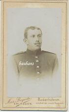 CDV/Kabinettfoto  Offizier  aus Erlangen (R933)