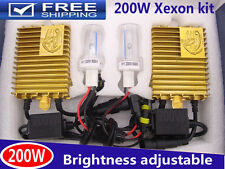 NEW 200W HID Xenon Headlight Kit Light Bulb Lamp H1 H7 H3 H11 9006 White 6000K