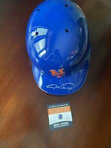Jacob DeGrom - Signed Auto Authentic Batting Helmet - Mets - Dave & Adams COA!