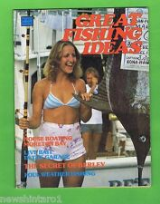 #T34. GREAT FISHING IDEAS MAGAZINE, APPEARS 1970s