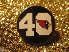 Pat Tillman #40 Arizona Cardinals Football NFL Tribute Pin NEW Authentic