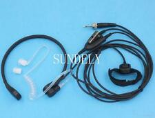 Sealed Throat Mic Headset/Earpiece for Uniden Radio UH074SX UH076DLX Voyager PTT