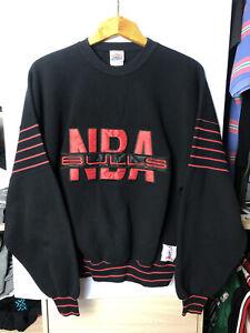 Vintage Nutmeg NBA Chicago Bulls Sweatshirt Made in USA Mens Size XL
