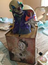 Creepy Scary Clown Jack in the Box Atico Super Neat!!!