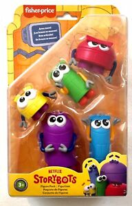 Fisher-Price Netflix Storybots Figures 5 Pack -NEW-