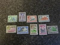 BRITISH SOLOMON ISLANDS POSTAGE STAMPS SG60-68 1/2D-1/- UMM & LMM