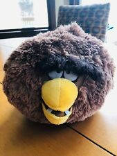 """Angry Birds Chewbacca Soft Stuffed Plush Toy 9"""" NEW WITHOUT TAGS Star Wars"""
