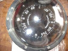 VINTAGE DANFORTH/WHITE CONSTELLATION BINNACLE COMPASS