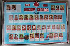 1972 Hockey Canada Poster - Canada vs Russia - FREE SHIPPING