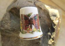 Dé à coudre Thimble Porcelaine Papillon Marco Polo Exclusif Design collectionneur bien