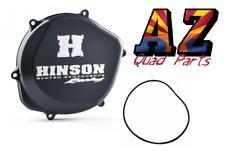 Hinson Racing Black Billet Clutch Cover & Gasket O-ring Honda TRX450R TRX 450R