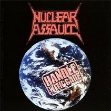 "NUCLEAR ASSAULT ""HANDLE WITH CARE""  CD THRASH METAL NEU"