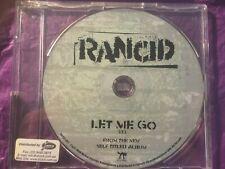 RANCID RARE PROMO ONLY Let Me Go CD Single