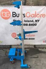 "Genie GL-10 Material Lift Boom Lift Hoist 350 lbs Cap. Counterweight Base 11'-8"""