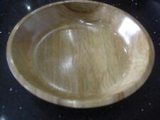 Hand Turned ELM Wood Platter/Bowl [788]