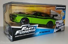 1:24 Scale JADA Fast and Furious 7 - Letty's Dodge Challenger SRT8 Offroad Green