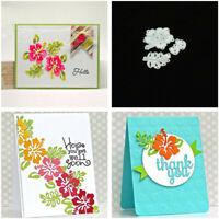 DIY Flower Metal Cutting Dies Stencil Scrapbooking Paper Card Embossing Craft