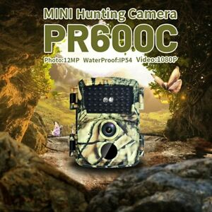 Outdoor Night Vision Wildlife Hunting Trail Trap 12MP 1080P Scouting Waterproof