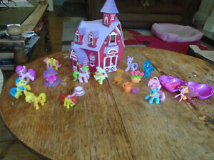 My Little Pony Sweet Apple Acres Barn playset with figures & accessories Hasbro
