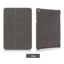 "For 2017 iPad 5th Generation 9.7"" Case Magnetic Stand Smart Suede Leather Cover"
