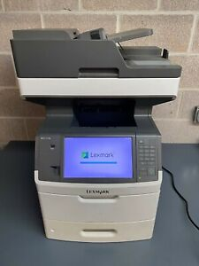 "Lexmark MX711DE 70 Copies Per Min 3300 Sheet Capacity 10"" Class Touch Screen"