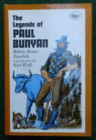 Vintage The Legends Of Paul Bunyan, Roberta Strauss Feuerlicht 1966 Edition