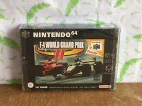 Nintendo 64 N64 game - F-1 Grand Prix II - boxed with manual  - (BS3)