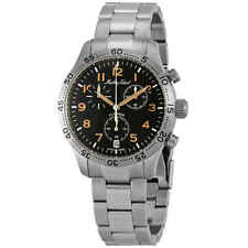 Mathey-Tissot Flyback Type 21 Chronograph Black Dial Men's Watch H1821CHANO