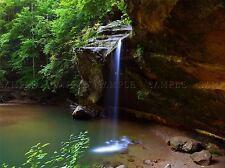 Paisaje Cascada Virginia Usa Hermoso Glade grandes de arte cartel impresión bb3100a