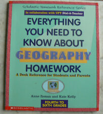 Everything You Need to Know About GEOGRAPHY Homework,gr.4,5,6 Desk Reference PB