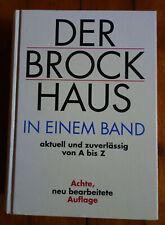 Buch Der Brockhaus in einem Band, Nachschlagewerk, Kompendium