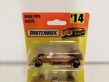 Matchbox GRAN PRIX RACER #14 ON CARD BLISTER 1996