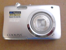 NIKON COOLPIX A100 20.1 MP , FOR PARTS ONLY.
