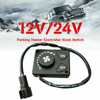 12V/24V Parking Heater Controller Switch Knob For Car Truck Air Diesel Heater