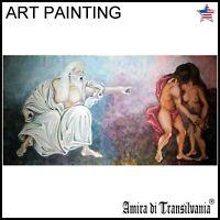 collectible art modern contemporary painting figurative decorative portrait sin