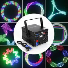 RGB Lasershow mondo DMX 500mW Laser Fase luce Visualizza animazione 30W ILDA IT