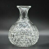 """Dorflinger American Brilliant Period ABP Hob Diamond 7 1/2"""" Vase/Carafe"""