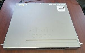 Cisco WS-C3850-24P-S - Stackable 24 10/100/1000 Ethernet PoE+ ports, IP Base