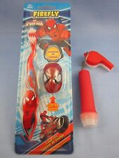 SPIDER-MAN CRIMEFIGHTER TOOTHBRUSH CLUB KIT with FLASHLIGHT & TOY WHISTLE