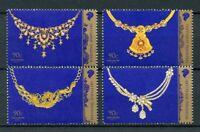 Singapore 2017 MNH Wedding Jewellery 4v Set Art & Design Fashion Stamps