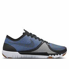 NIKE FREE TRAINER 3.0 V4 Premium Running Trainers Shoes Gym UK 7 (EUR 41) Blue