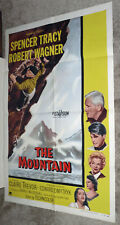 Mountain Climbing orig 1956 one sheet movie poster Spencer Tracy/Robert Wagner