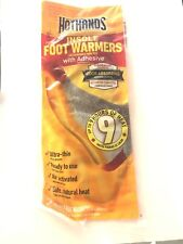1 pair  HotHands Insole Foot Warmer With Adhesive