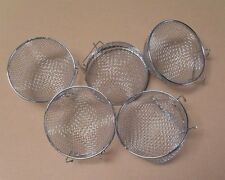 Metal Finch Canary Bird Nests Lot of 5