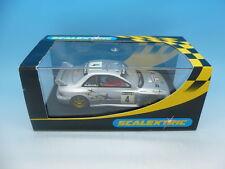 Scalextric c2236w Subaru Impreza No. 4 En Plata