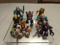 Vintage 80's Hasbro Battle Beasts Lot Various Weapons and Conditions