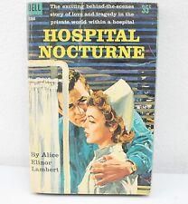 Hospital Nocturne By Alice Elinor Lambert (1960) PB