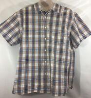 EUC Nautica Jeans Company Men's Dress Shirt Size XXL